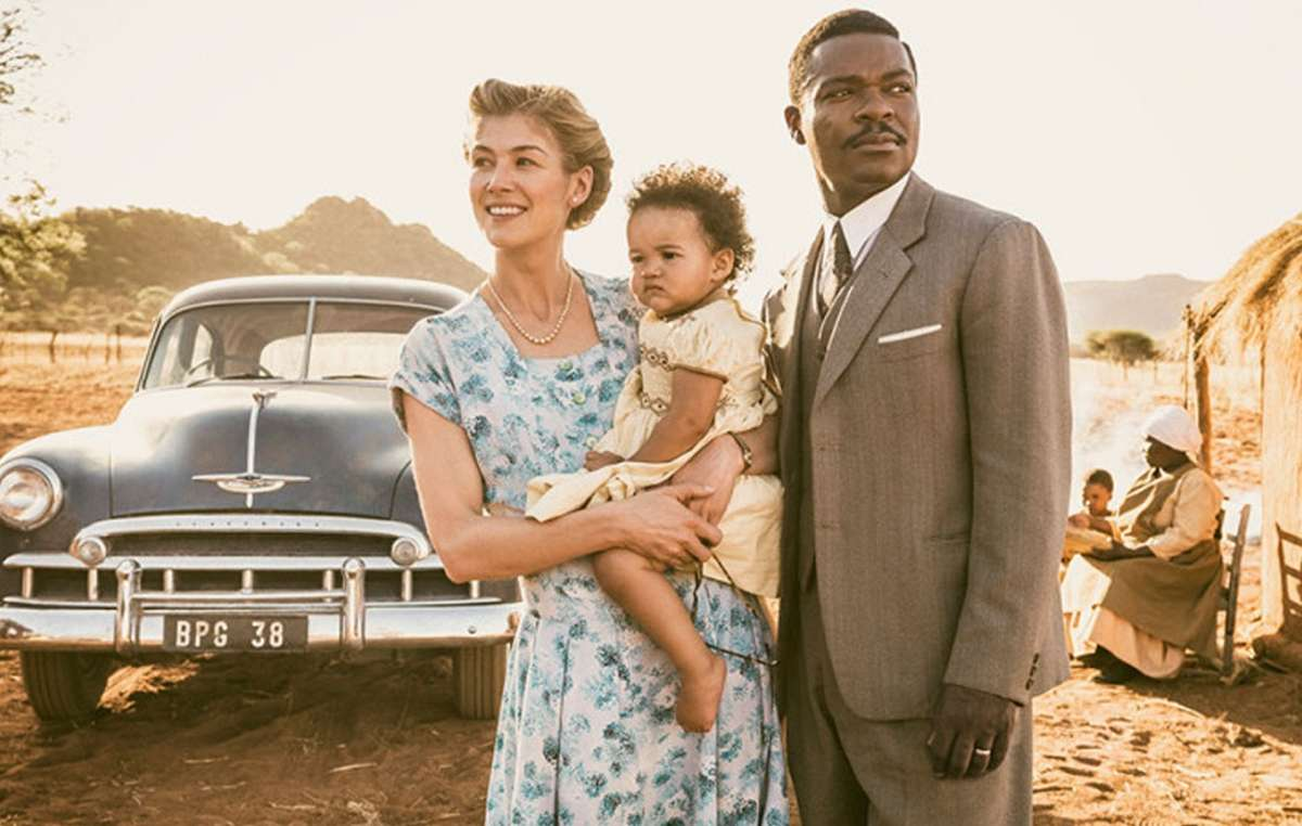 President Seretse Khama, the hero of 'A United Kingdom' was widely praised for his treatment of the Bushmen, but subsequent Botswana presidents, including his son Ian, have been severely criticized.