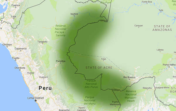 Nella frontiera dell'Amazzonia incontattata, un'ampia area al confine tra Perù e Brasile, abita la più alta concentrazione di tribù incontattate al mondo.