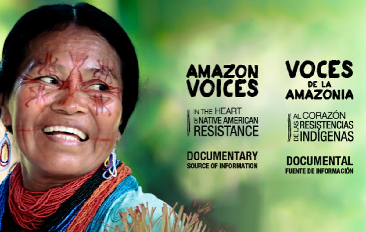 'Voces de la Amazonia' gana el premio de Survival a la mejor cinta de temática indígena del Festival de Cine y DDHH de Barcelona.