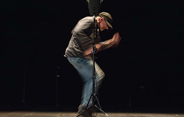 "Simon McBurney performs ""The Encounter"" – his acclaimed one-man show about the people of the Javari Valley in Brazil."