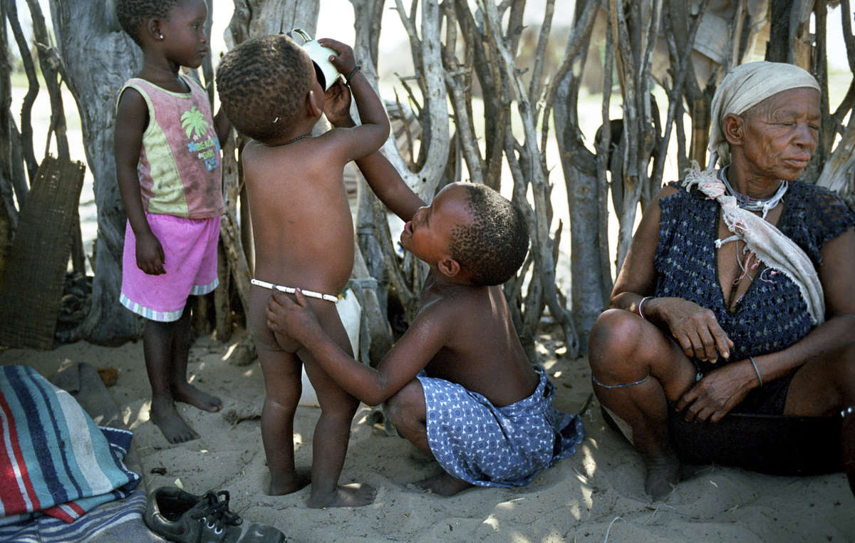 Botswanas Bushmen have faced harassment and intimidation at the hands of the government for over a decade.