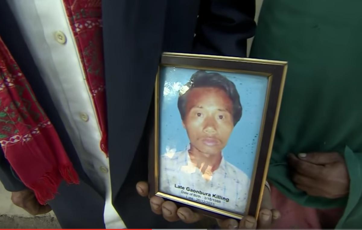 Guardaparques en Kaziranga han disparado en el acto a decenas de personas, entre ellos a Gaonbura Killing, un joven con una discapacidad severa.