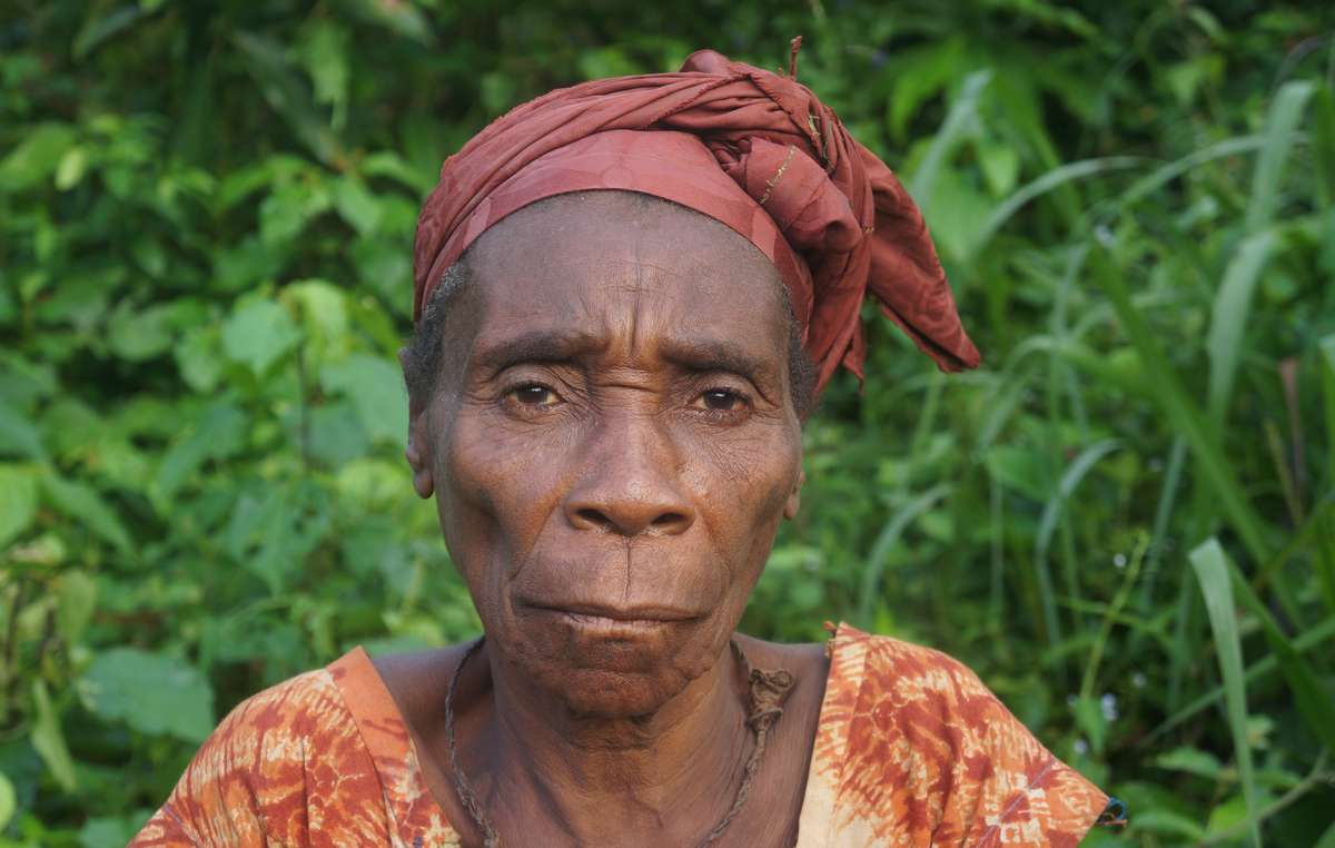 A Baka woman from the Republic of Congo. WWF-funded rangers have killed, raped and tortured Baka and Bayaka people.