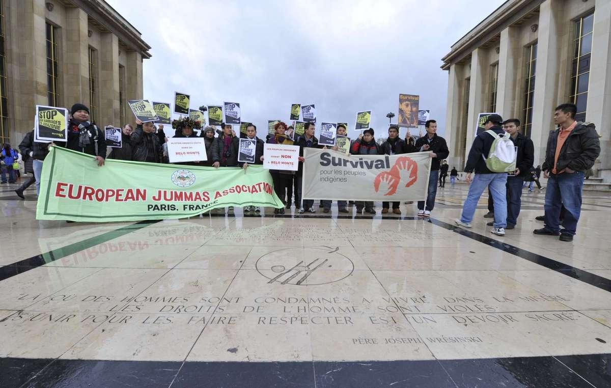 Le peuple jumma du Bangladesh soutient les Indiens d'Amazonie dans leur lutte contre les barrages