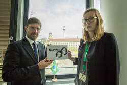 Survival handed a letter to the Brazilian embassy in Berlin, Germany