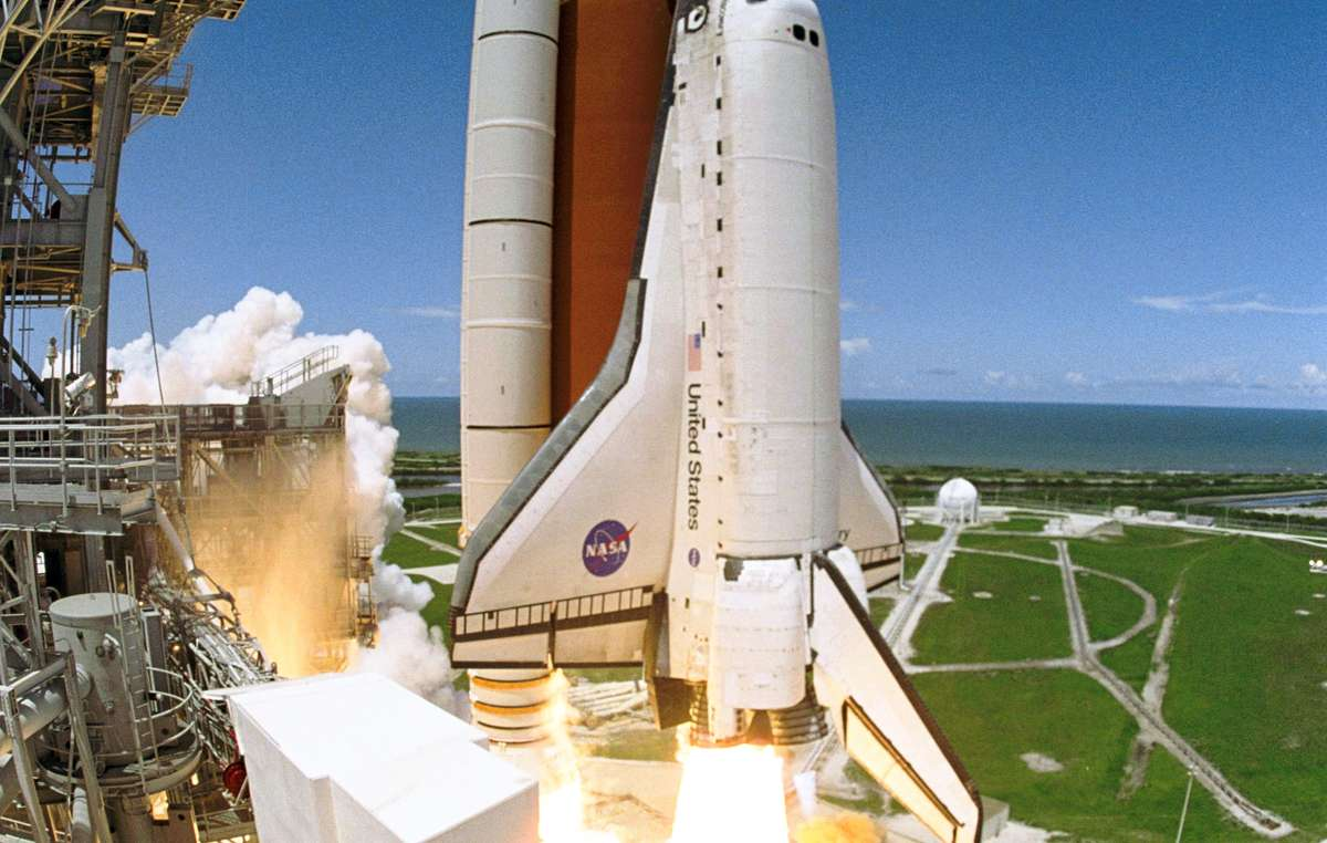 Space shuttle tyres are made from natural latex