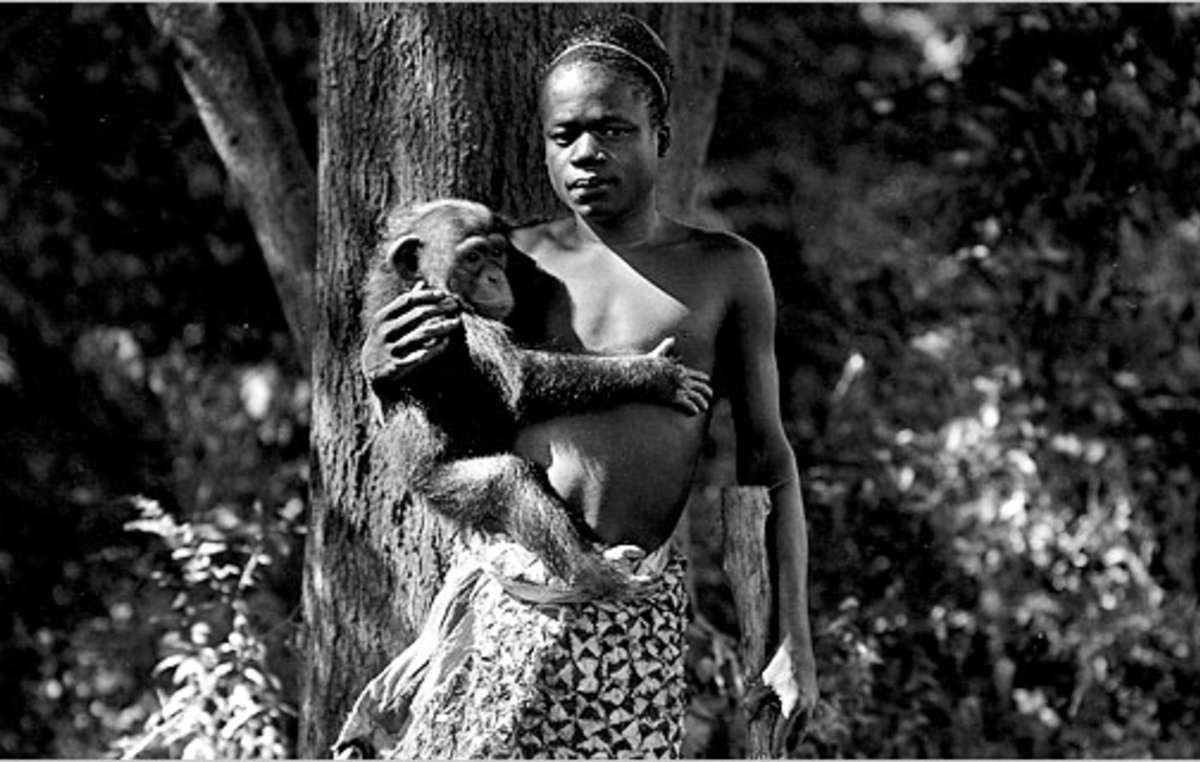 Ota Benga, a Congolese Pygmy man who was transported to the US and exhibited in zoos, before committing suicide in 1916.