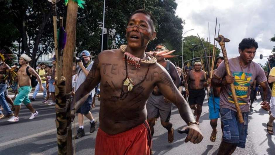 Court decision on indigenous land rights presents major threat to tribes across Brazil