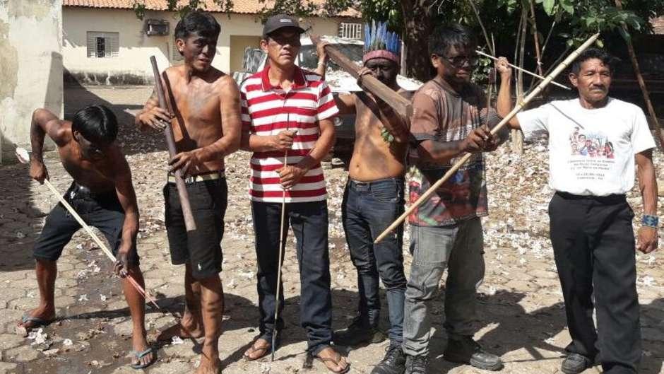 Se trata de la primera protesta de este tipo que realizan los Guardianes guajajaras.