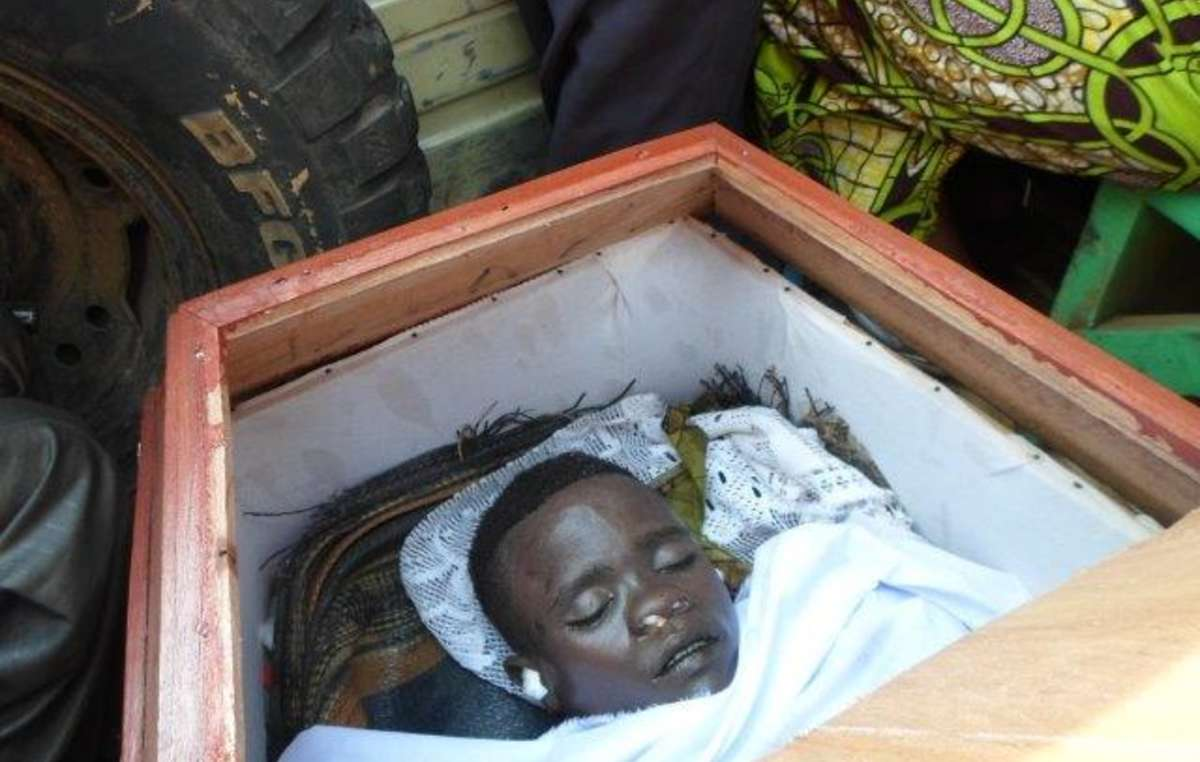 Mbone Christian Nakulire was just 17 years old when he was killed.
