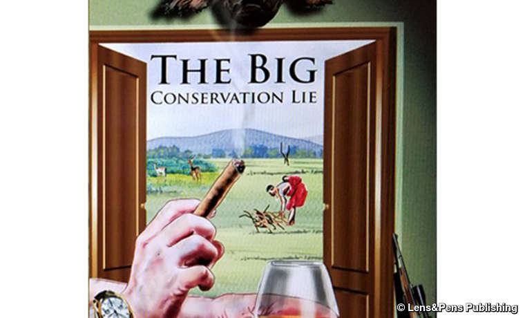 Cover of the book 'The big conservation lie', by John Mbaria and Mordecai Ogada