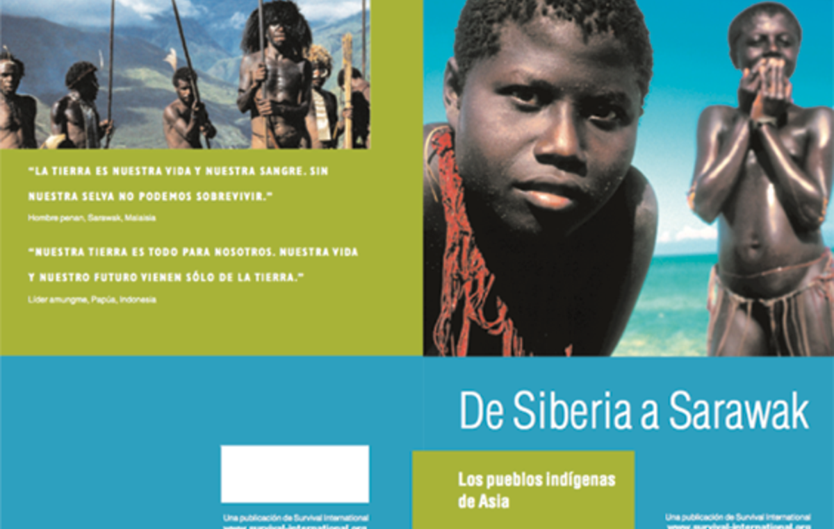 Informe de Survival International 'De Siberia a Sarawak'.
