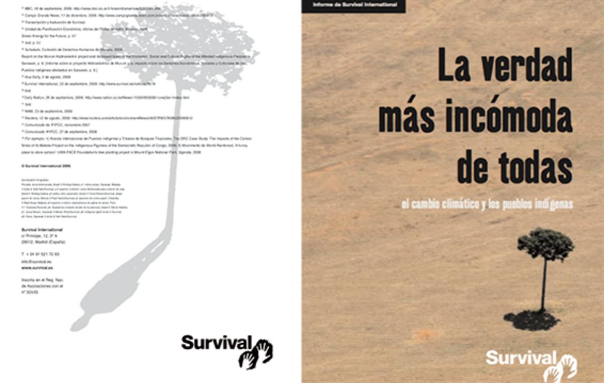 Informe de Survival International 'La verdad más incómoda de todas'.