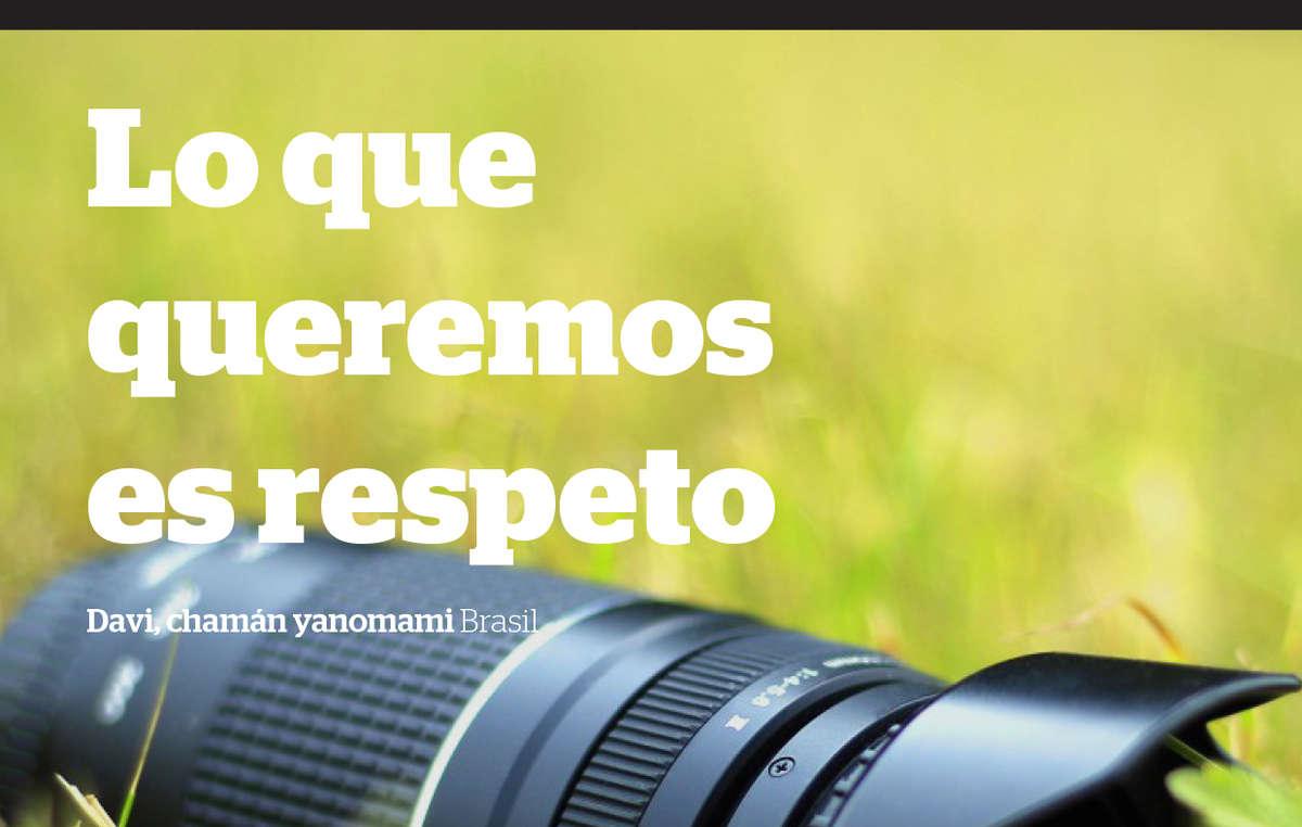 Guía sobre filmar o fotografiar a pueblos indígenas