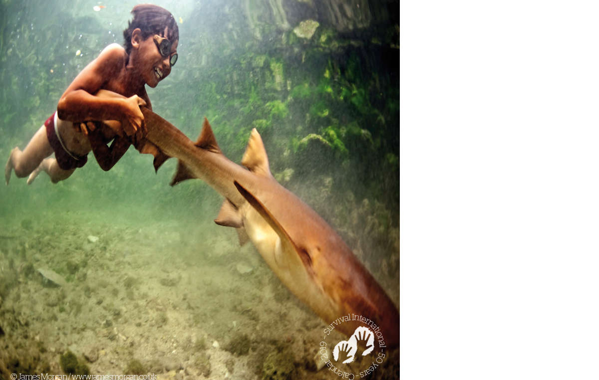 Bajau boy, Malaysia. Survival Calendar 2019