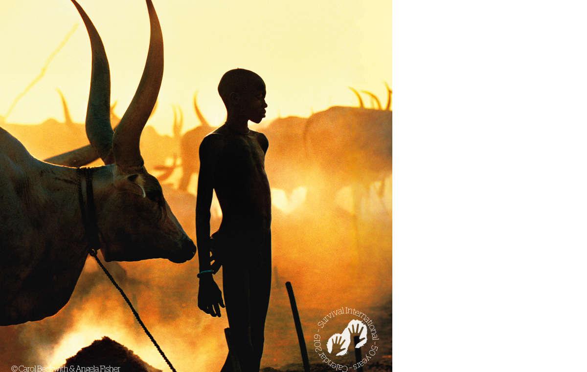 Dinka boy, Sudan. Survival Calendar 2019.