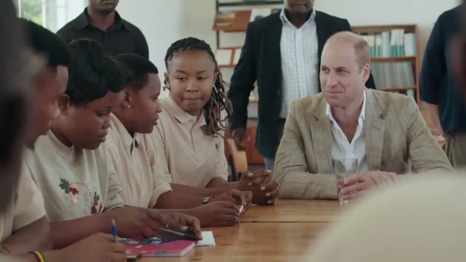 A video about Prince William's recent conservation trip to Africa has been criticised for only including non-Africans' perspectives on conservation