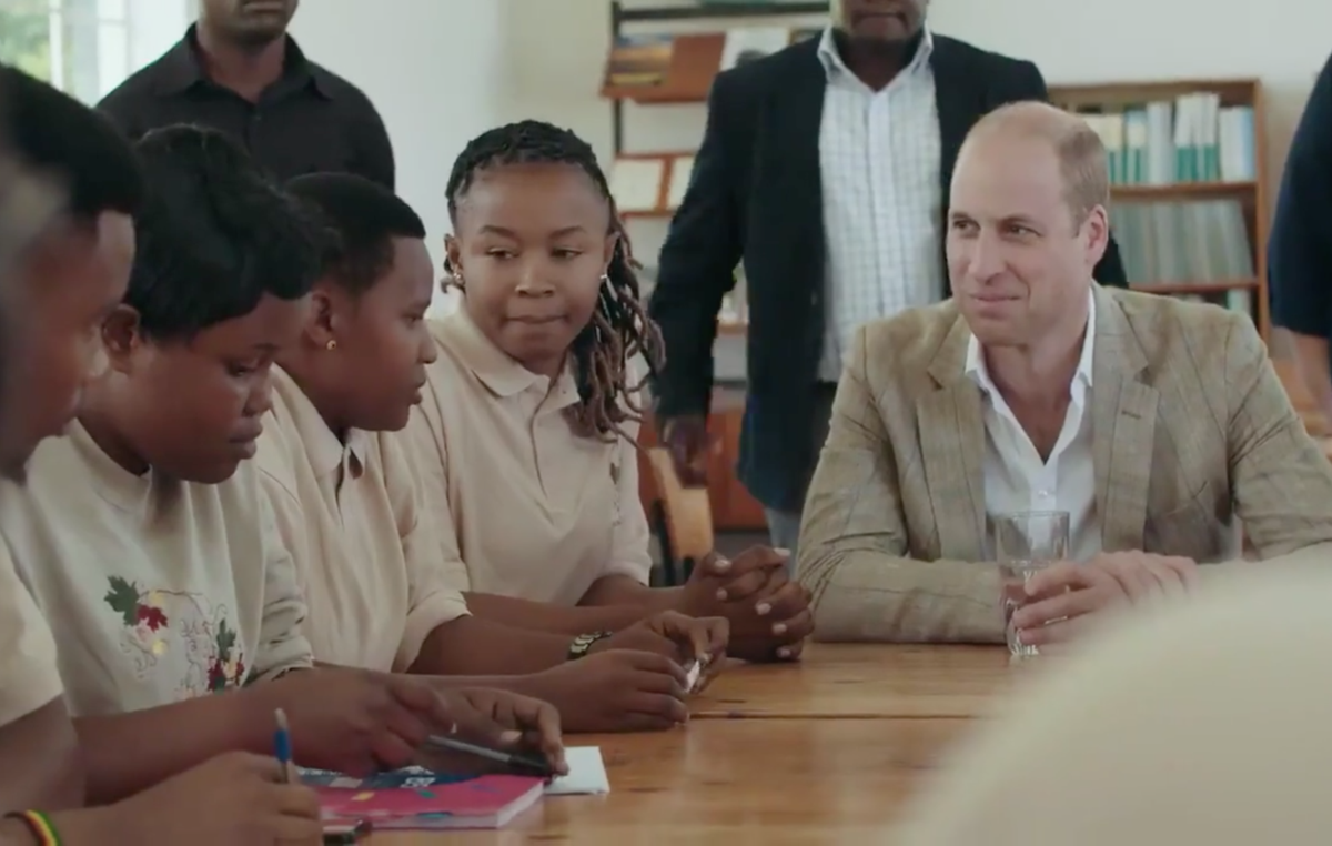 "Prince William's video has been accused of perpetuating ""white saviour"" stereotypes."