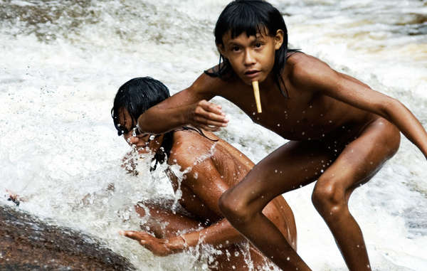 The Zo'é are a very isolated tribe, who were forcibly contacted in the 1980s. Many of them died of diseases to which they had no resistance.