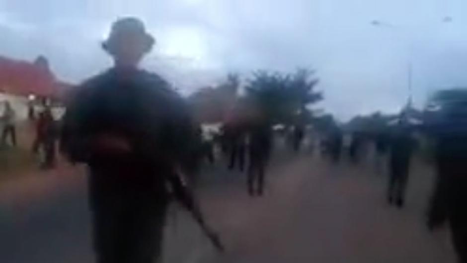 Soldados abren fuego contra un grupo de indígenas pemones. Una mujer ha muerto y 25 personas han resultado heridas.