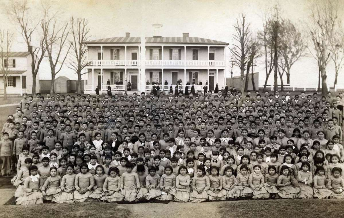 Carlisle Indian School, U.S. 1884