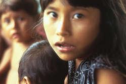 Bambini Warao, Delta Amacuro, Venezuela.