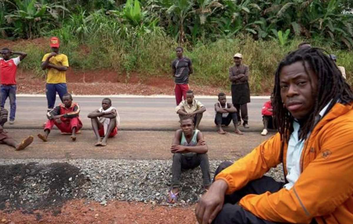Ade Adepitan au Congo pour « Unreported World »