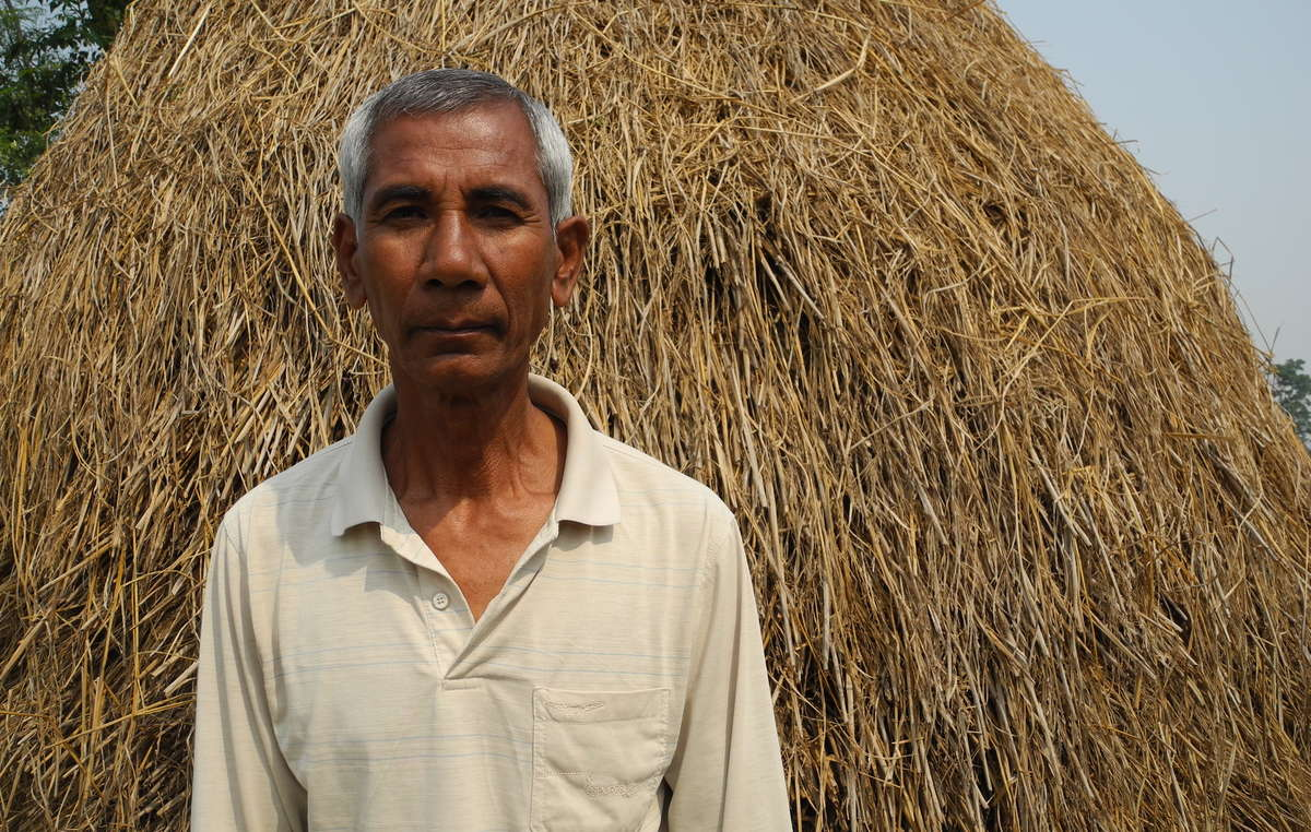 Budhan Mahato, evicted at the age of 12 from Kastuhani village inside Chitwan National Park (Nepal, 2018)