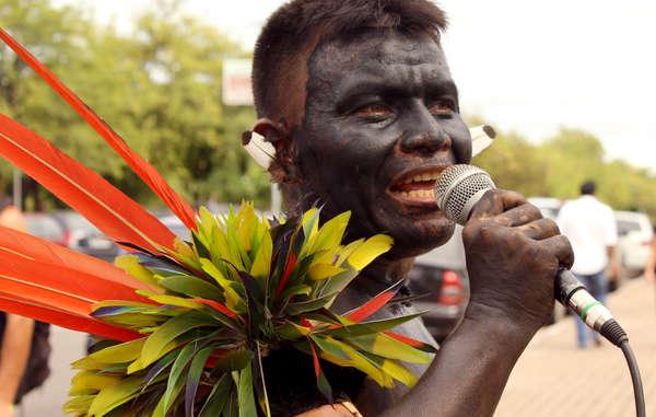 Brasiliens Yanomami protestieren seit Jahren gegen die verheerenden Folgen des Goldabbaus