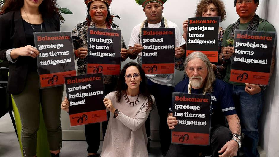 """Survival partecipa agli eventi paralleli """"Amazzonia: casa comune"""" per diffondere la voce dei popoli indigeni con il progetto #TribalVoice"""
