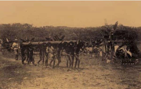 Indígenas witoto en el Putumayo, Colombia