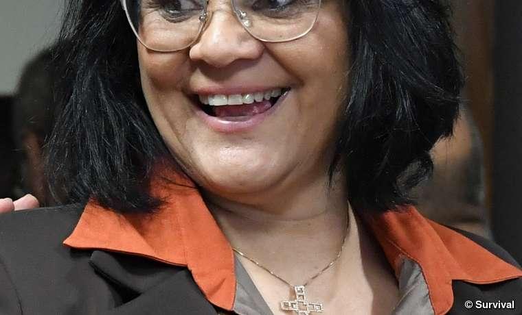 Damares Alves, die evangelische Pastorin, die zur Ministerin für Frauen, Familie und Menschenrechte ernannt wurde.