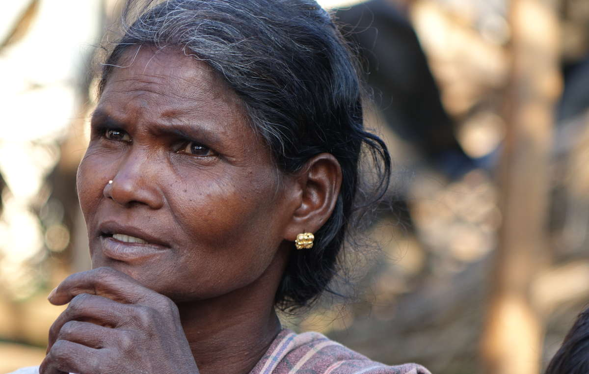 "Jenu Kuruba woman evicted from Nagarhole Tiger Reserve. A Jenu Kuruba recently evicted from their forest told Survival, ""What the Forest Department did with us before the eviction was a kind of torture. They said we killed animals, they put false charges against us, and they didn't allow us to do anything in the forest."""