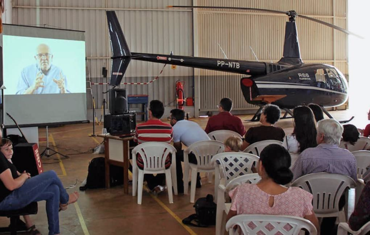 The NTM in Brazil unveil their new helicopter for reaching uncontacted tribes in the Javari Valley