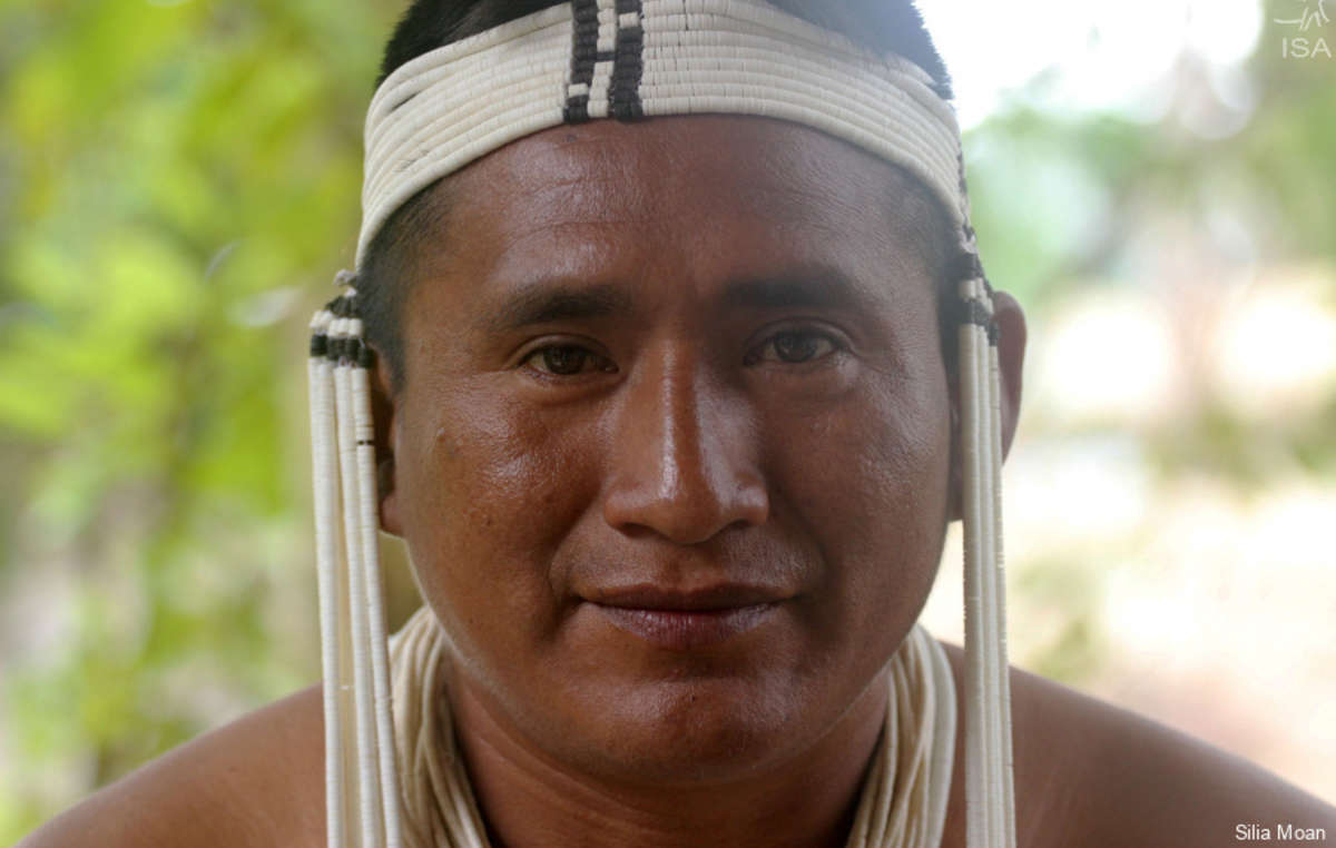 Kenampa Marubo, leader de l'UNIVAJA, l'organisation autochtone de la vallée du Javari.