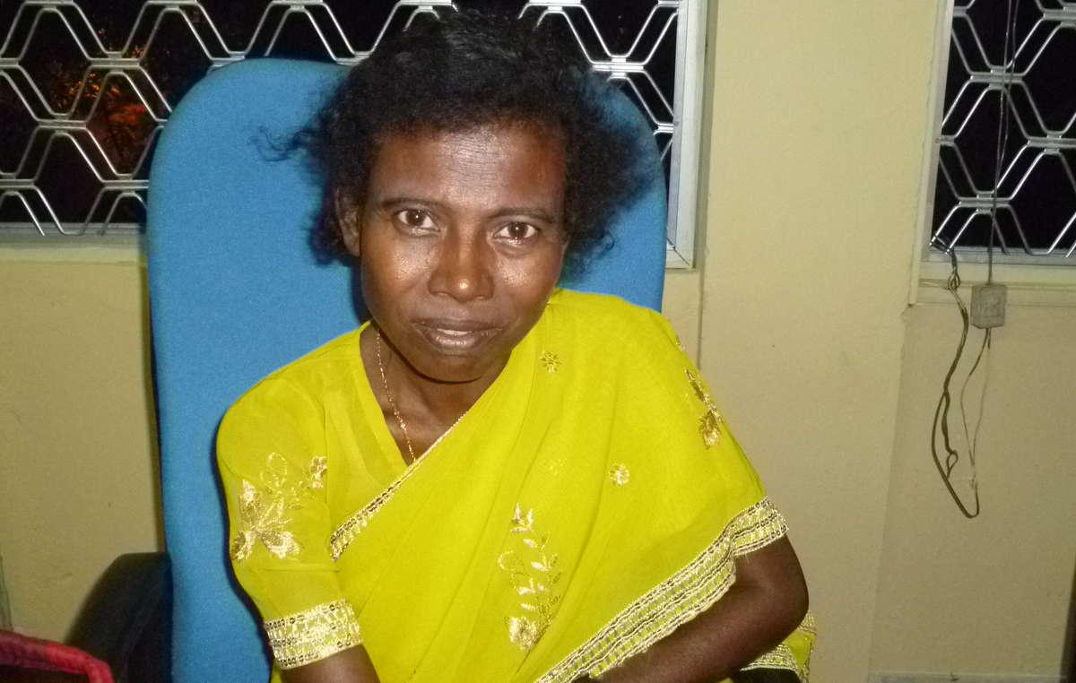 Licho war die letzte Sprecherin der Sare-Sprache der Groß-Andamaner.