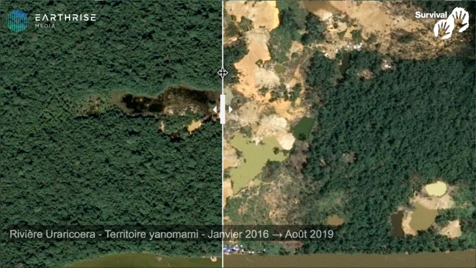 Deux hommes yanomami tués par des chercheurs d'or au Brésil, alors qu'une ruée vers l'or massive apporte mort et maladie.