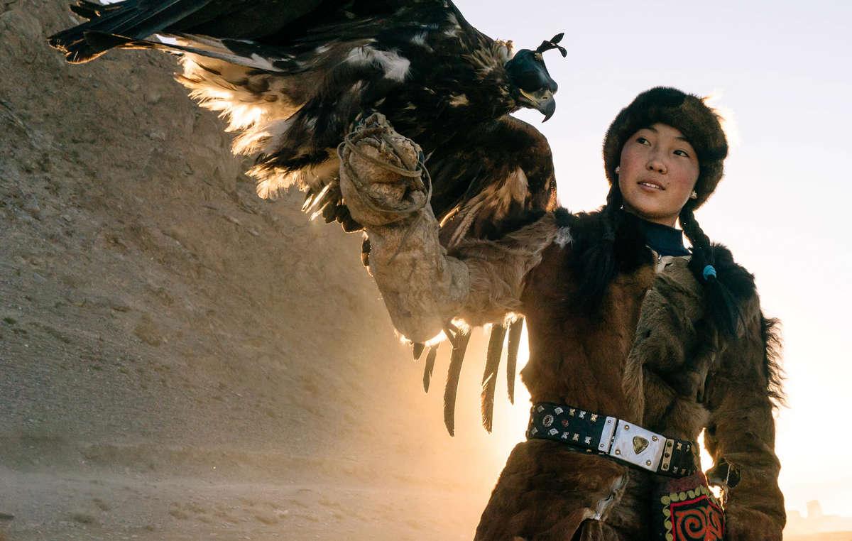 Calendario de Survival 2021. Altai Kazakh, Mongolia, 2018.