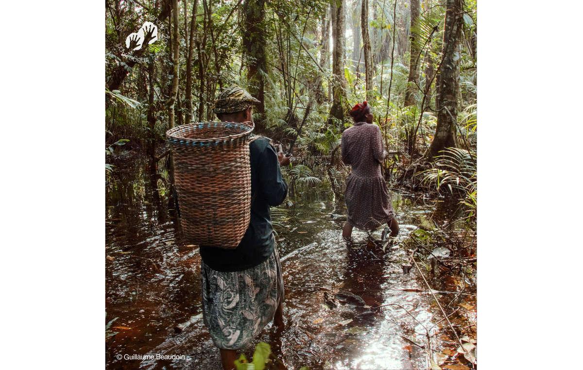 Survival Calendar Survival 2021. April. Baka, Gabon, 2019.