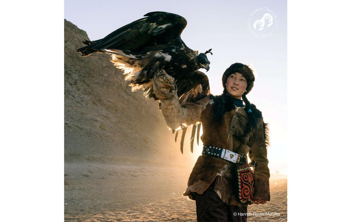 Survival Calendar 2021. Altai Kazakh, Mongolia, 2018.