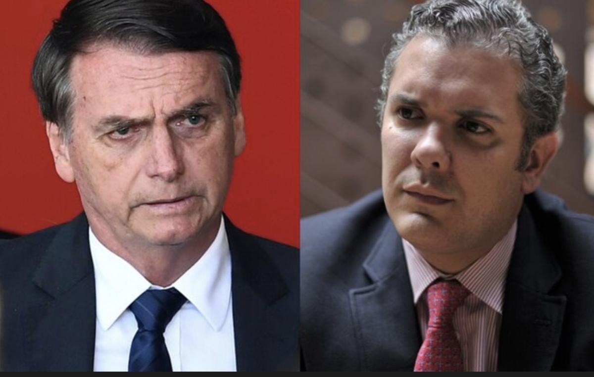Presidentes de Brasil y Colombia, Jair Bolsonaro e Iván Duque. / Agencia AFP y Archivo.