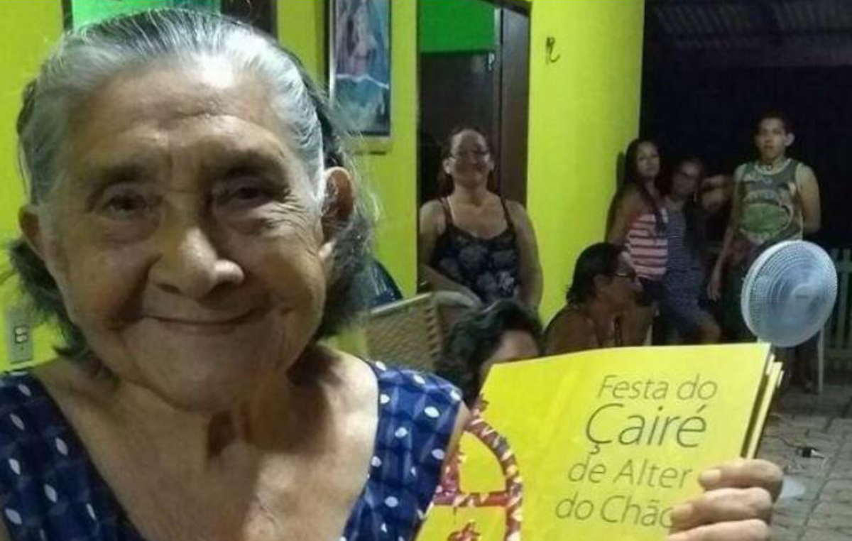 Lusia dos Santos Lobato was the first indigenous person to die of Covid-19 in Brazil.