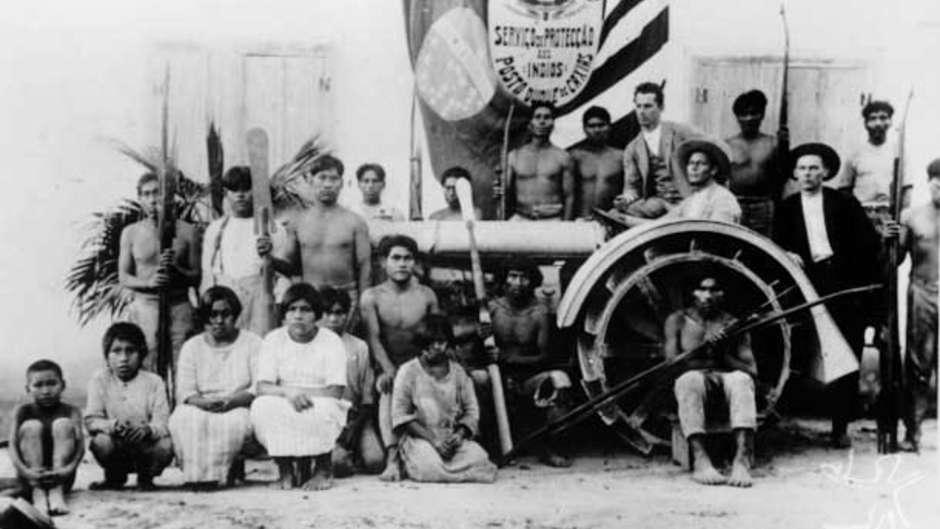 Entre os séculos 19 e 20, indígenas Xokleng foram violentamente expulsos de seu território para dar espaço à ocupação alemã.