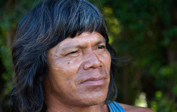 Guarani-man. Een Guarani gemeenschap ontvangt mogelijk $ 83 miljoen wegens geleden 'materiële en immateriële' schade.