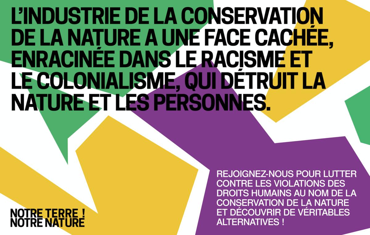 L'industrie de la conservation de la nature a une face cachée, enracinée dans le racisme et le colonialisme, qui détruit la nature et les personnes.