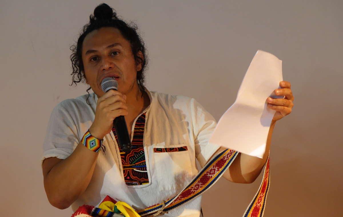 Juan Pablo Gutierrez, attivista yukpa, sarà al Milano Climate Camp sabato 2 ottobre per parlare di decolonizzazione della conservazione.