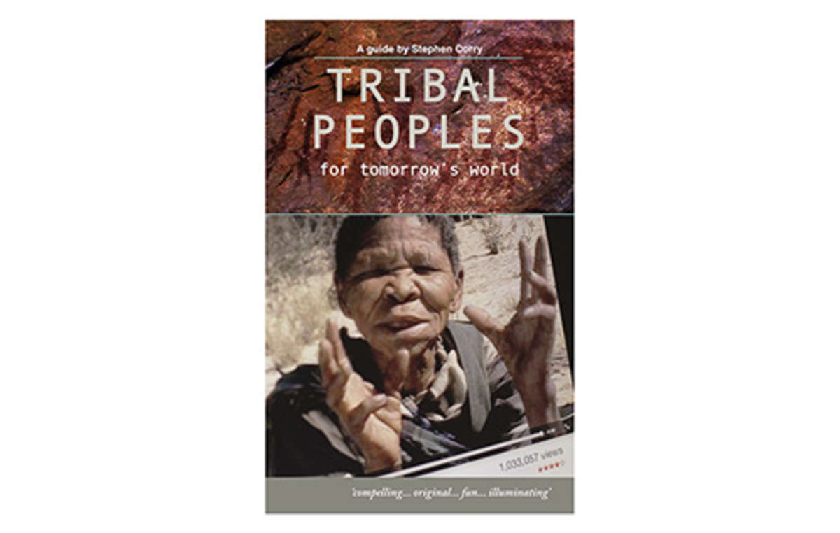 Le livre de Stephen Corry, 'Tribal Peoples for Tomorrows World, est actuellement en vente sur Amazon.