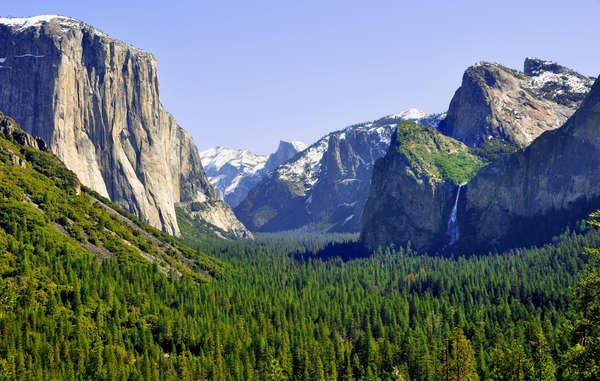 Valle di Yosemite, Stati Uniti.