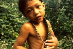 Enfant penan, Sarawak