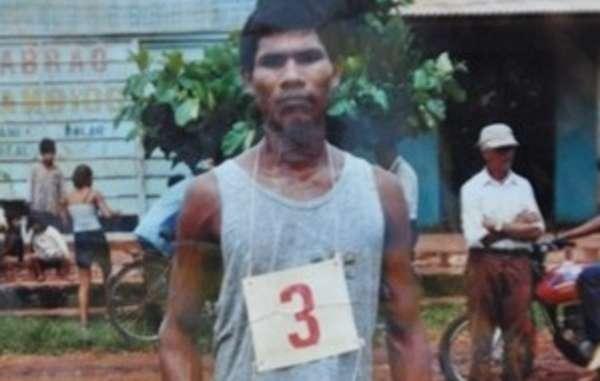 Rolindo Verá. Sein Körper wurde nach dem Angriff in 2009 niemals gefunden